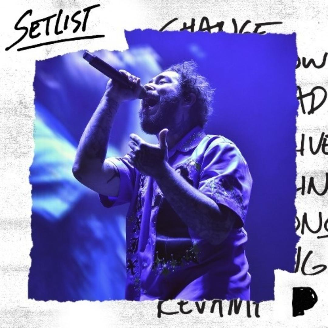 Concert Set: Post Malone New Year's Eve at Barclays Center Playlist