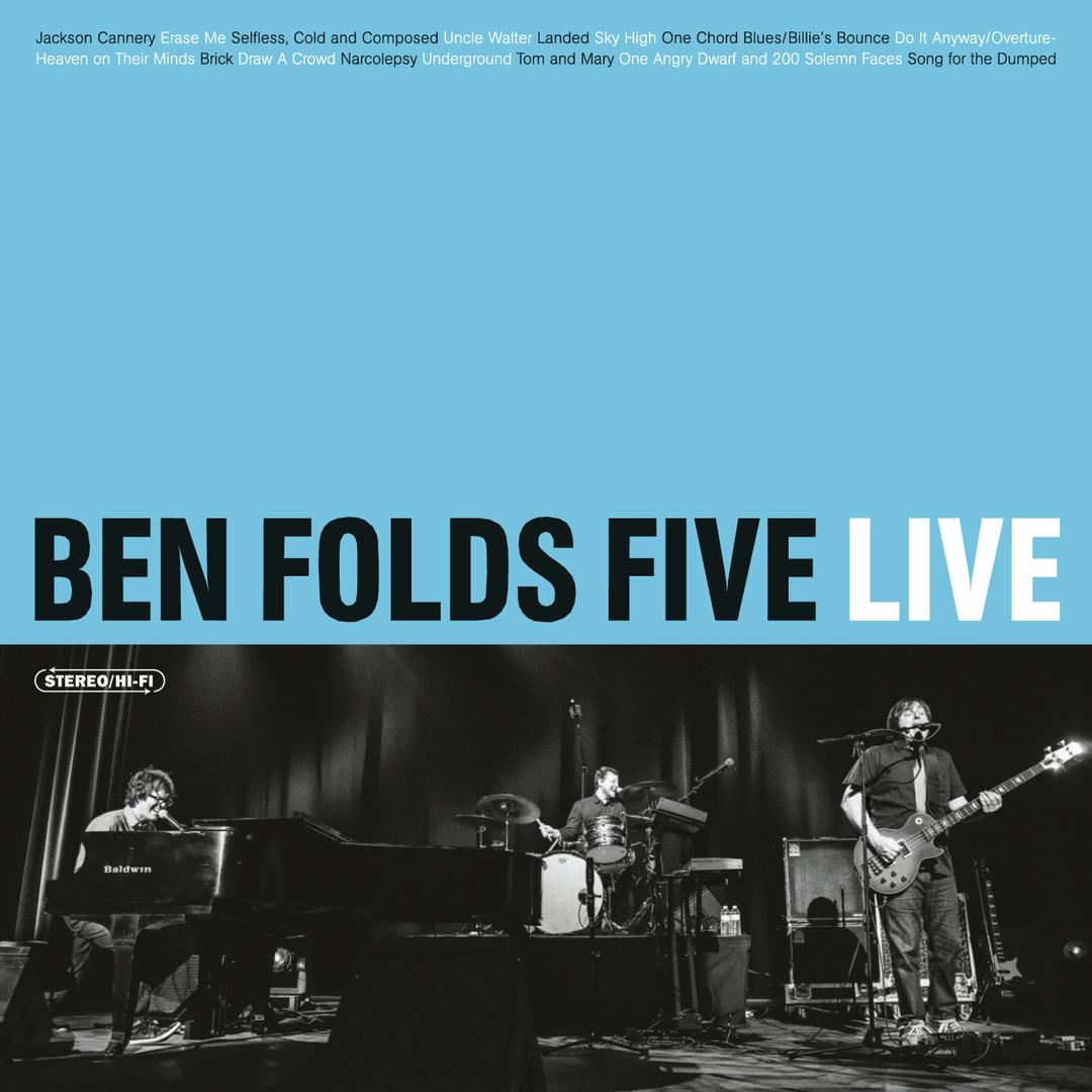 Erase Me The Warfield San Francisco Ca 13113 By Ben Folds Five