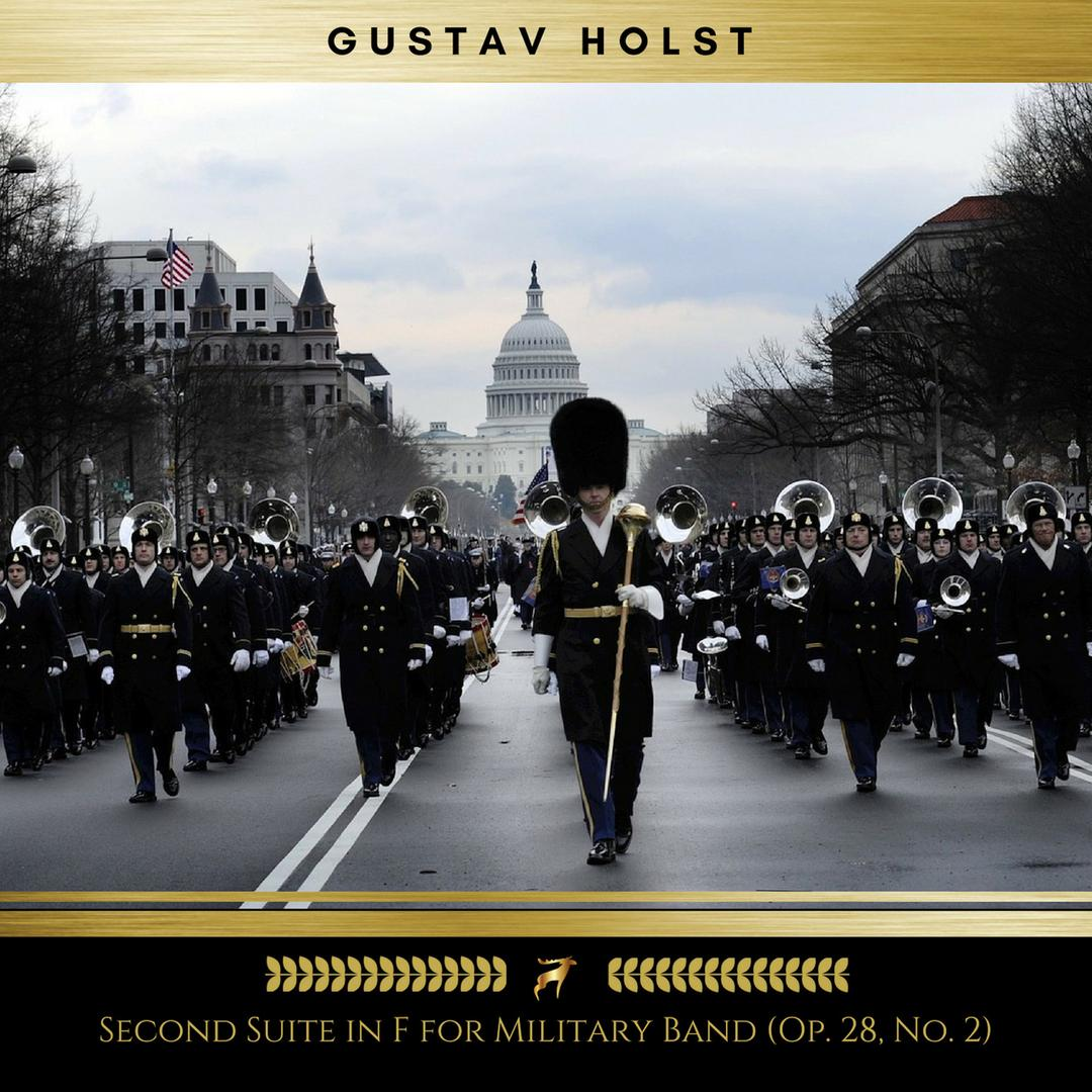 Second Suite in F for Military Band: Op  28, No  2 (Golden