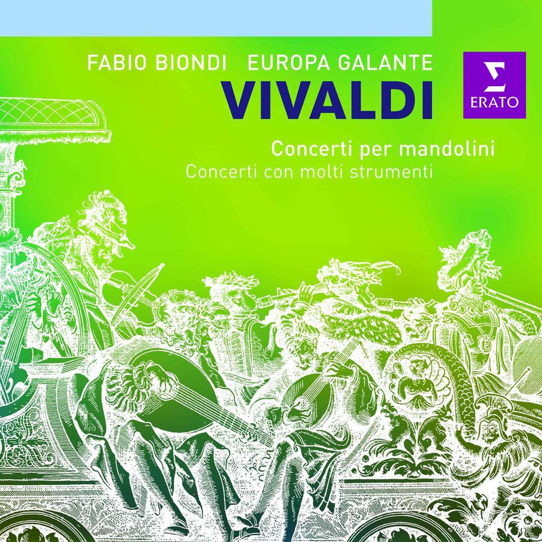 Mandolin Concerto, For Mandolin, Strings & Continuo In C