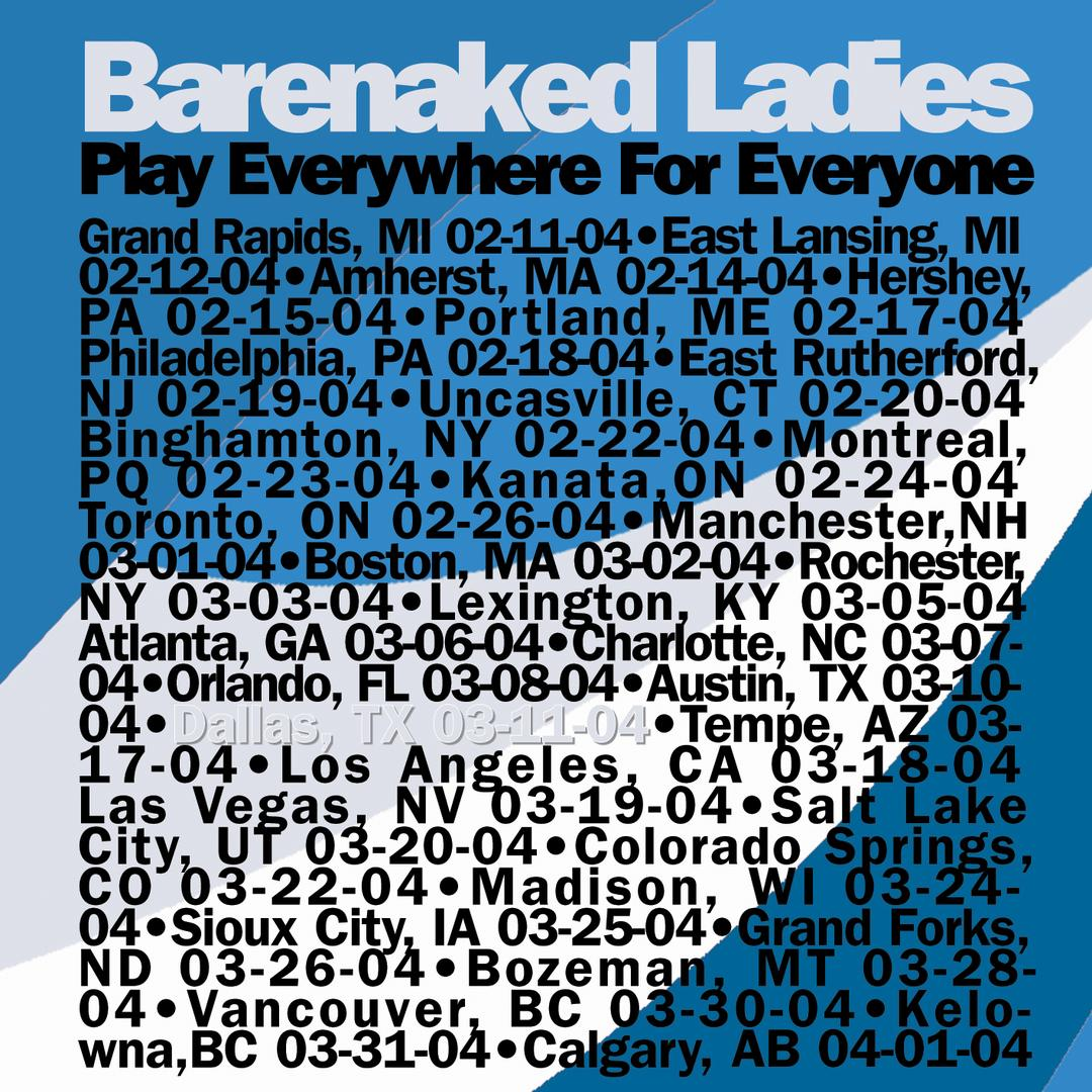 Bare naked ladies yoko 15