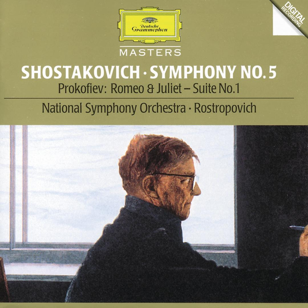 Symphony No 5 in D minor, Op 47: 2  Allegretto by National Symphony