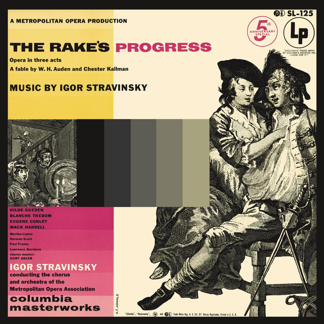 The Rakes Progress Opera In 3 Acts Highlights Act I Prelude